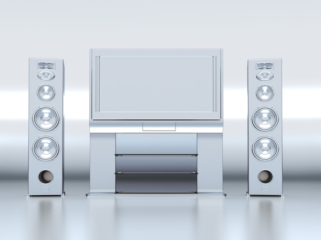 home theater system prototype